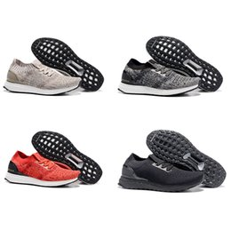 Wholesale New Mens Fall Fashion - 2016 New Mens Ultra Boost Uncaged Running Shoes Fashion Sports Trainers