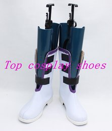 Wholesale Break Boots - Wholesale-Pandora Hearts Xerxes Break Xerxes Break White & Black Cosplay Boots shoes #PH005 ver 2