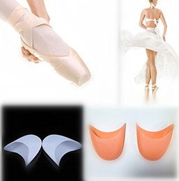 Wholesale Ballet Pointe Dance Toe Shoes - Ballet Dance Pointe Shoes Protection Gel Silicone Toe Pads - Pair Brand New Brand New Good Quality Free Shipping
