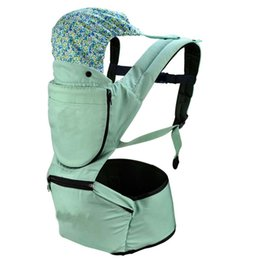 Wholesale Pink Baby Carriers - 3-48 Months Breathable Front Facing Baby Carrier 4 in 1 Infant Comfortable Sling Backpack Pouch Wrap Baby Kangaroo New