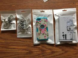 2019 s6 rand mobil Reißverschluss-weiße Plastikeinzelverkaufs-Paket-Beutel-Polyverpackung für Handy-Fall für Rand-S6 HTC Iphone 7 6 6S Samsung-Galaxie-S7 rabatt s6 rand mobil
