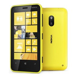 Wholesale Android 1ghz 512mb - Original Nokia Lumia 620 Dual core Windows 8 Dual-core 1GHz 512mb 8GB Camera 5MP Wifi GPS refurbished unlocked Cellphone