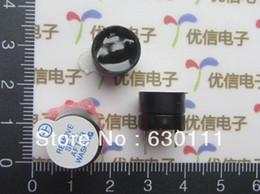 Wholesale Passive Buzzer - Wholesale-Free shipping 50pcs Active Passive Buzzer Alarm 5V Sounder speaker Buzzer