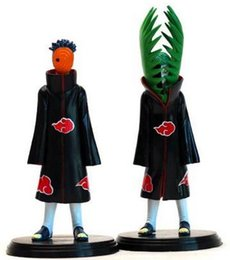 Wholesale Japanese Child Dolls - Gifts for children Hotsell 2pcs set PVC japanese anime figures naruto Doll Uchiha Obito +Zetsu Naruto Action Figure Toy