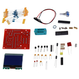 Wholesale Pwm Frequency - New DIY KITS M328 Transistor Tester LCR Diode Capacitance ESR meter PWM Square wave Frequency Signal Generator free shipping <US$10 no track