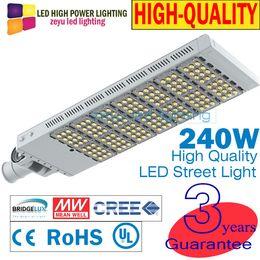 Wholesale Solar Chips Wholesale - ZY-ST-LD3B-240W 240W led street light MEAN WELL DRIVER & BRIDGELUX CHIP outdoor lights solar streetlight 250W street lamp LIGHTS