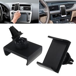 gps de montage d'évent Promotion -2016 Wholesale Titulaire New 360 Rotating Car Air Vent Mount Cradle Support pour iPhone 5 5S 6 6 plus 6s 6s plus GPS Holder Haute Qualité 7CM2