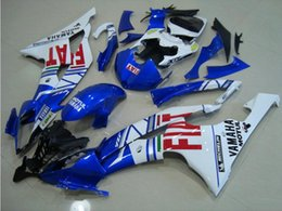 Wholesale Yzf R6 Fiat - 4 Free Gifts New Injection ABS Fairing kit 100% Fit for YAMAHA YZFR6 08 09 10 11 12 13 14 15 YZF R6 2008-2015 YZF600 Fairings Set hot FIAT