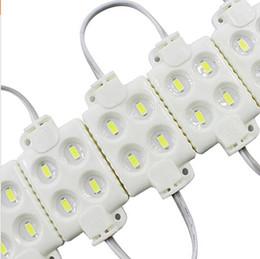 Wholesale Shop Advertising - 5730 4LED injection led module 12V Waterproof IP65,shop banner LED Sign Backlight Modules,Advertising Light Box Modules