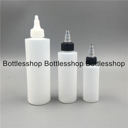 Wholesale Nose Cap For Bottles - PE Plastic Eliquid Use Shapr-nose Bottle 60ml 120ml pe unicorn bottle with twist off cap for e cigarettes liquid plastic bottle wholesales