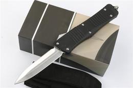 Wholesale Aluminum Technology - mic Mi-technology Shuangfeng anti-skid Hunting Folding Pocket Knife Survival Knife benchmade Xmas gift for men 1pcs freeshipping