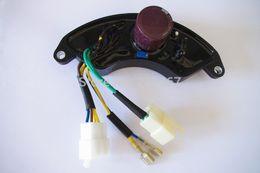 Wholesale Avr Generator Regulator - AVR 3 phase 380V for Honda EC EP E* 7500 6500 5500 4500 series automatic voltage regulator stabilizer 5KW 6.5KW generator