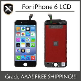 Wholesale Iphone Touch Screen Repair - Grade AAA+ For iPhone 6 LCD Display Touch Screen Digitizer Assembly With Frame Repair Replacement For iPhone 6 Free Shipping