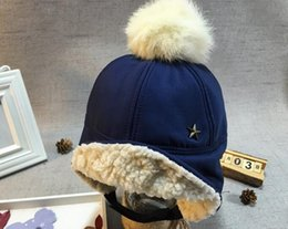 Wholesale Church Real - New real wool ful hats for boys and girls discounts price good quality