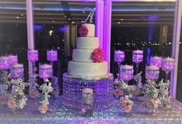 Wholesale Round Cake Stands - wedding crystal transparent round acrylic crystal Cake Stand - wedding centerpiec,Table Centerpiece