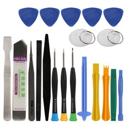 Wholesale Ipad Disassembly - DHL 20 in 1 Mobile Phone Repair Tools Kit Spudger Pry Opening Tool Screwdriver Disassembly for iPhone For iPad For Samsung Wholesale