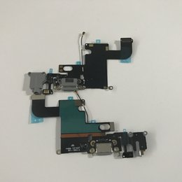 Wholesale Iphone Dock Jack - Original Headphone Audio Jack Dock Connector usb Charger Charging Data Port Flex Cable for iphone 5 5g 5s 5c 6 6PLUS free shipping
