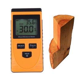 Wholesale Portable Moisture Tester - Wholesale-Professional Portable Digital LCD Wood Timber Moisture Meter Damp Detector Tester Tool