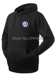 Wholesale Silver Winter Coats For Men - Wholesale-new arrived winter Autumn VW 4S store coats for man women VW Volkswagen Hoodies pullover sweatshirt size S~XXXL