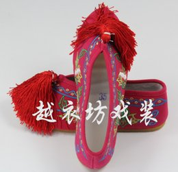 Wholesale Traditional Chinese Woman Costume - Wholesale-Fashion Women's Shoes Chinese Style Casual Flats Shoes Soft Sole Cozy Retro Embroidery Walking Shoes Woman China Traditional