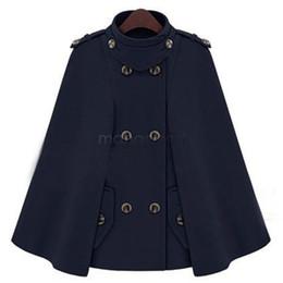 Wholesale Woolen Clothes Design - Autumn Winter New Design Cloak Woolen Coat Women Clothing Wool Jacket Jaqueta Feminina 25