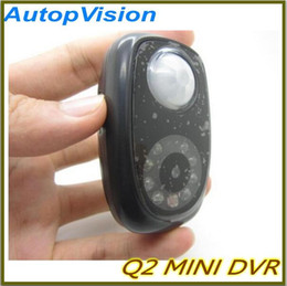 Wholesale Dvr Q2 - Q2 mini PIR camera. Home cecurity Recorder. MINI DVR with CE ROhs Certificate.