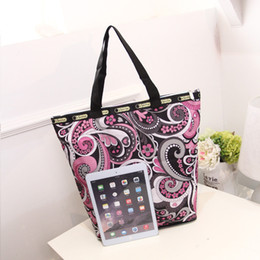 Wholesale Top Candy Brands - Brand Design Fashion Floral Print Shoulder Bags For Women Top Quality Canvas Totes Bag Handbags 2017 New Arrival