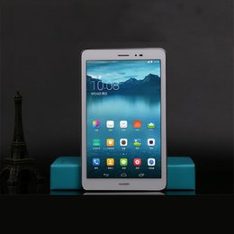 Wholesale Screen Protector Chinese - Qualcomm Quad Core Huawei Tablet PC Dual Camera 1GB 8GB 8 Inch 1280x800 Screen Android 4.3 Tablet PC S8-701W
