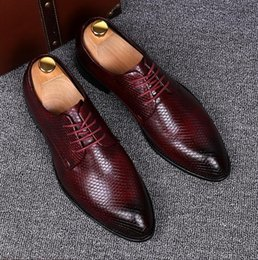 Wholesale Groom Wedding Shoes White - 2016 New style groom wedding shoes British leisure Lace-Up shoes gentleman shoes stylist leather shoes business suits shoes XX156