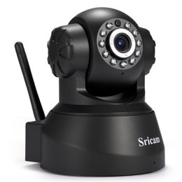 Wholesale Baby Remote - Newest Sricam SP012 IP Camera WIFI Onvif P2P Phone Remote 720P Home Security Baby Monitor 1.0MP Wireless Video Surveillance Cameras 1B