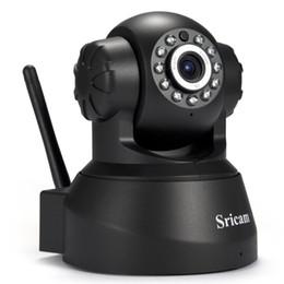 Wholesale Monitor Surveillance - Newest Sricam SP012 IP Camera WIFI Onvif P2P Phone Remote 720P Home Security Baby Monitor 1.0MP Wireless Video Surveillance Cameras 1B
