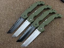 Cuchillos grandes de acero al aire libre online-Los más nuevos cuchillos de acero en frío Navigator serie Voyager cuchillo plegable grande herramienta supervivencia cuchillos caza táctica herramienta de camping al aire libre 10 tipos