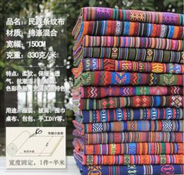 Wholesale Quilt Patchwork Set - Wholesale 10 color patchwork quilt ethnic fabrics,Sofa set cafe cafe tablecloth curtain patchwork-cotton-fabric150CM,B146