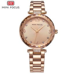 Wholesale Womens Bangle Bracelet Watches - fashion charm womens watches gold silver bracelet round dial famous brand stainless stell bangle lady dress quartz watch girlfriend gift