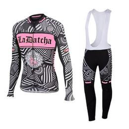 Wholesale Saxo Bank Women - Factory Direct! Ropa ciclismo 2016 tinkoff saxo bank Women long sleeve Cycling Jersey Bicycle Clothing GEL Pad free shipping