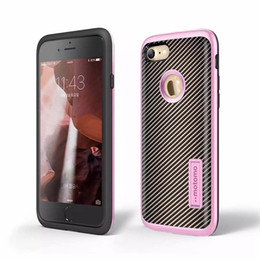 Wholesale Vertical Gold - Carbon Fiber Motomo Case For Galaxy A510 A710 J210 J5 Prime ON5(2016) J7 S6 Vertical Stand Soft TPU+PC Hybrid Armor Shockproof Cover Skin