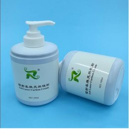 Wholesale Cream Equipment - 2018 New Arrival !!! 300ml Soft Laser Carbon Cream Gel For ND Yag Laser Skin Rejuvenation Treatment Active Carbon Cream Beauty Equipment