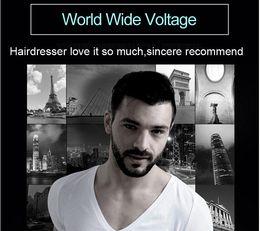 Wholesale Hair Clipper Lithium - Riwa professional hair clipper fast charging silver cool shape lithium battery titanium ceramic blade hair cutting machine X9