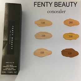 Wholesale Red Wine Acne - 6 Colors Fenty Beauty By Rihanna Pro Soft Matte Longwear Foundation Highlighter Primer Makeup Liquid Concealer 32ml
