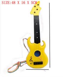 Wholesale Zero Profit - Simulation of small toy guitar percussive drill zero profit toy instruments mini guitar children