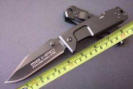 Bolso relação 58hrc extrema on-line-EXTREMA RATIO Fulcrum II T Espessura (4mm) Dobrável Caminhadas Faca 58hrc 440C Bolso Sobrevivência Tático Faca Presente F516L