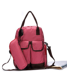 Wholesale Bag Maternal - Mummy Bag Multifunctional Shoulders Mother Package Maternal Child Package Baby Diaper Nappy Bag Backpack Womens Handbag Tote