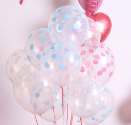 Wholesale Party Dots For Balloons - 12'' Colorful Dots Cute Balloon Latex Thicken For Birthday Wedding Party Home Decoration Kids Toyer Mix Color Mix Order 100PCS LOT