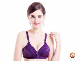 Wholesale Colorful Padded Bra - New Arrival Comfortable Lady Sexy Push Up Bra Underwired Brassiere 3 4 B C Cup Padded colorful Women underwear