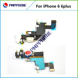 Wholesale Fastest Cable - Dock Connector Charger Charging Port Flex Cable for iPhone 6 4.7inch for iphone 6 Plus 5.5inch fast shipping