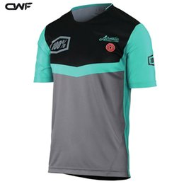 Wholesale T Fr - Short Sleeve Crossmax Offroad Downhill Jersey DH MX AM FR Clothing MTB Cycling Jerseys Motorcycle Motocross Bike T-Shirts