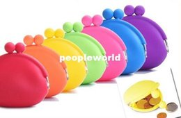 Wholesale Pochi Silicone - good quality coin bag coin purse silicone money bag  puse Japanese style coin wallet POCHI