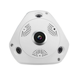 Wholesale Ipc Securities - Ebest IPC-F80 360 Degree 960P Wireless Fisheye Panoramic IP Camera 1.3MP Surveillance Security WiFi VR Cam