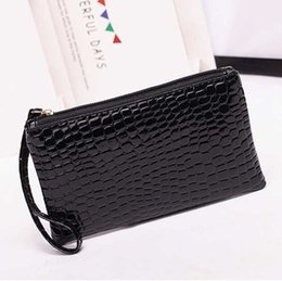 Wholesale Ivory Alligator - New Leather Women Wallets Alligator Grain Coins Card Holder Purse Wallet