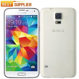 Wholesale Mini Wifi 3g - 2016 Direct Selling Hot Sale Smartphone Original Unlocked Samsung Galaxy S5 mini G800F Quad-core 3G&4G 16MP Camera GPS WIFI CellPhone